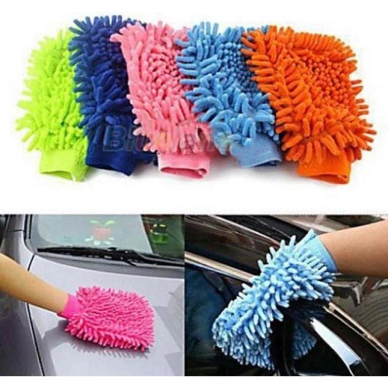 Găng tay chuyên dụng lau rửa xe hơi, ô tô đa năng - MKAC