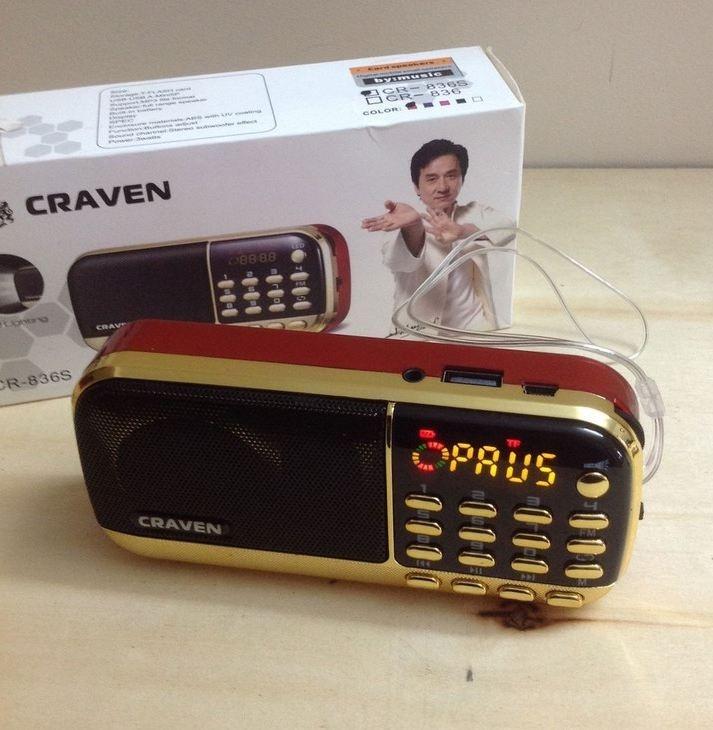 Loa thẻ nhớ Craven CR-836 1