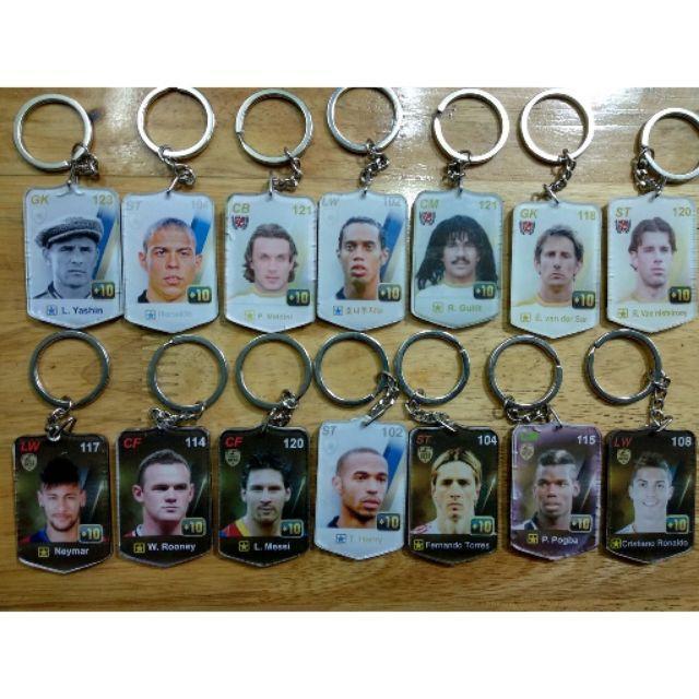 Hình ảnh Móc khóa các cầu thủ FIFA