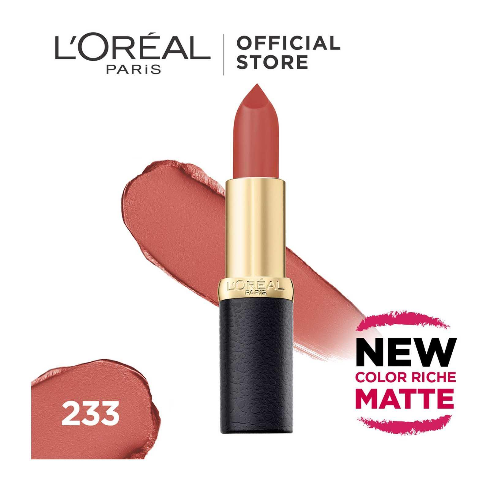 L'Oreal Paris Color Riche Matte 233 Rouge-A-Porter