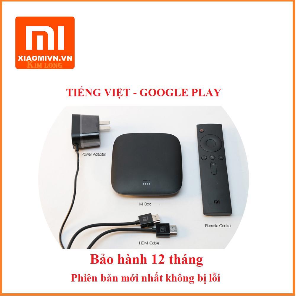 Hình ảnh Android Tivi Box Xiaomi Mibox 3C Bản Tiếng Việt và Google Play