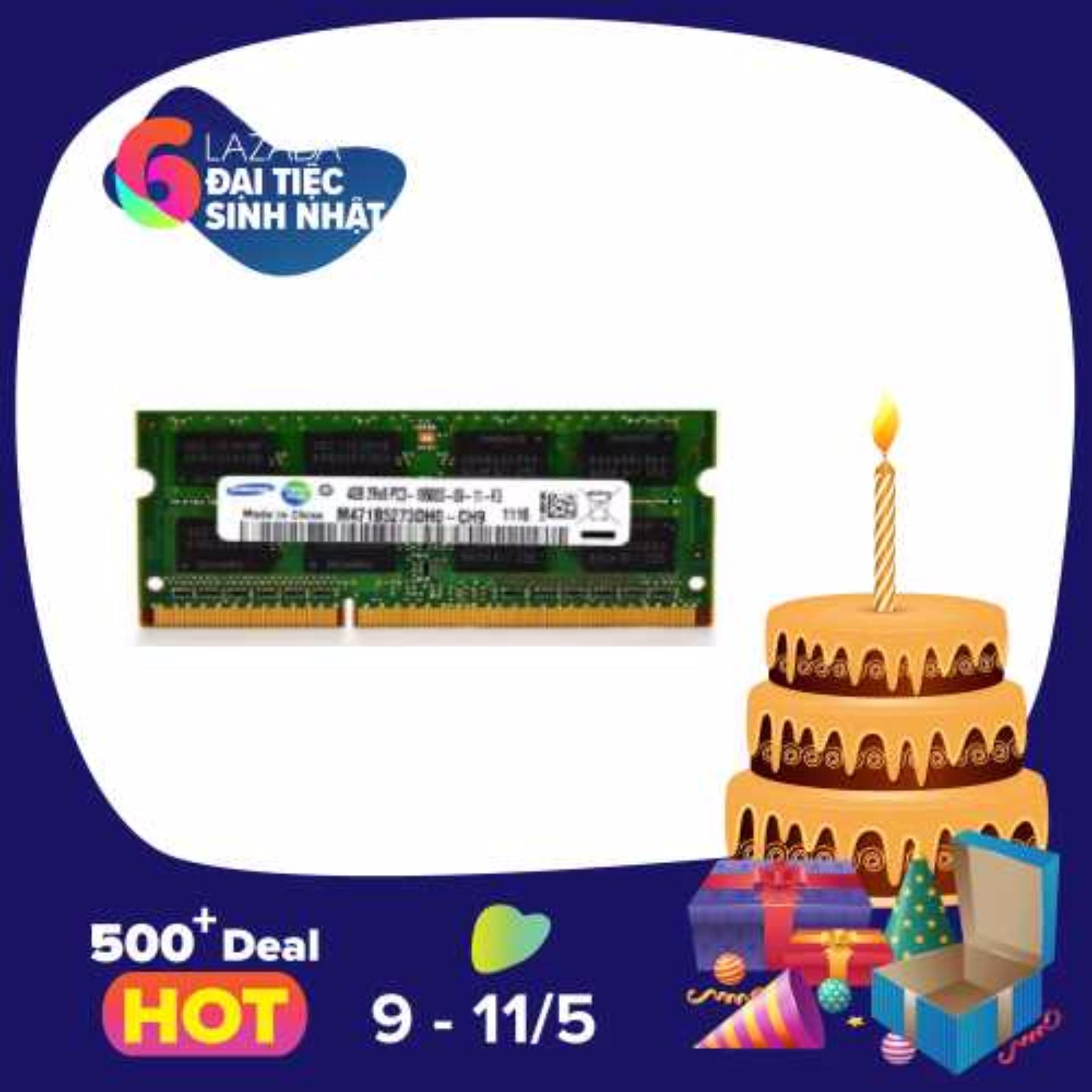 Mã Khuyến Mại Ram Laptop Samsung Ddr3 4Gb Bus 1333 Rẻ