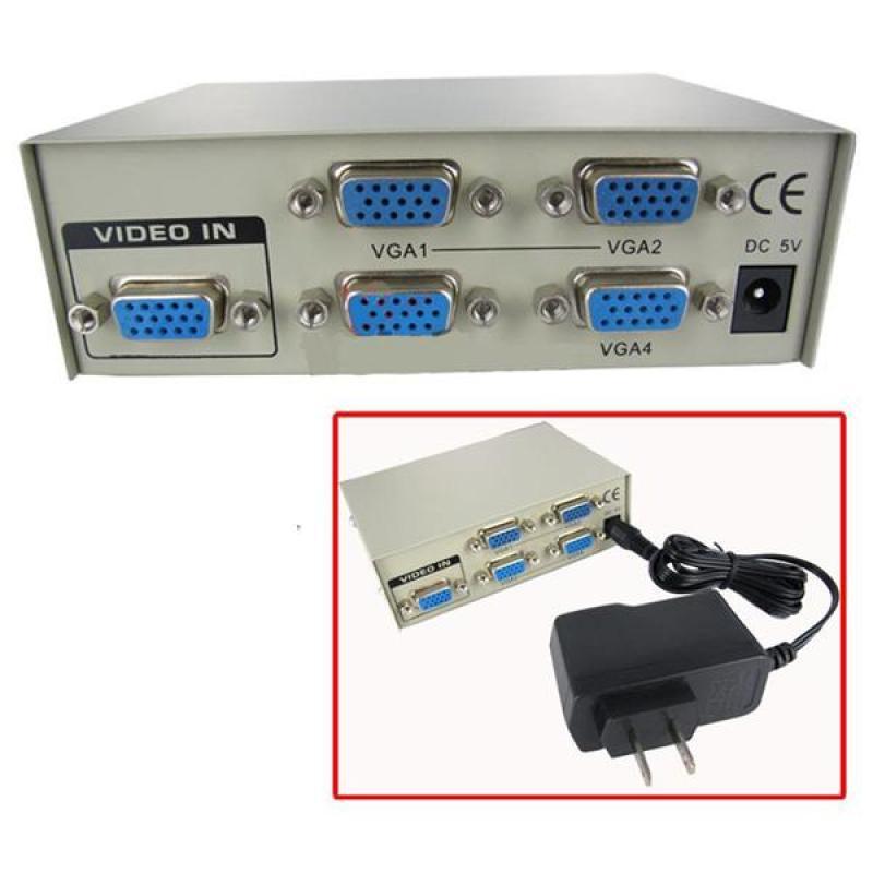 Bảng giá Bộ chia VGA 1 Ra 4 cao cấp băng thông 350mhz Phong Vũ