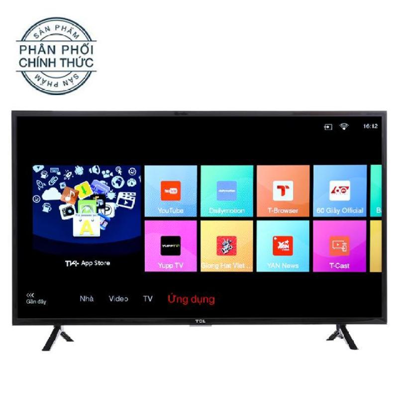 Bảng giá Smart Tivi LED TCL 40inch Full HD - Model L40S62 (Đen)
