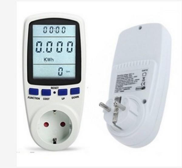 Đồng hồ đo công suất, ổ cắm đo điện năng tiêu thụ đa năng DL03