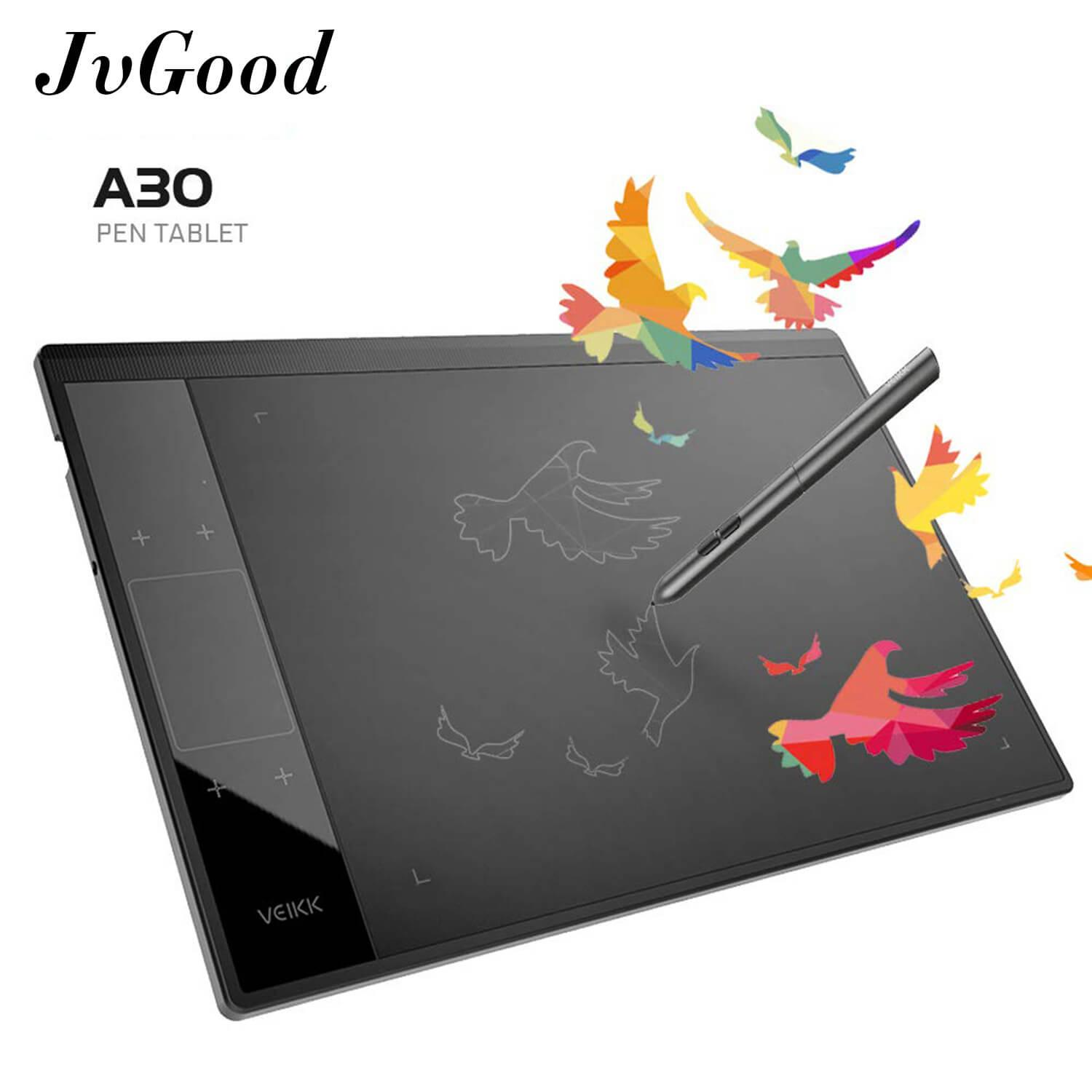 Computer Drawing Pad For Sale Pc Prices Brands Keyboard Diagram Kids Cabinet Block Jvgood Graphics Tablet Board Digital Pen With No Charging 8192