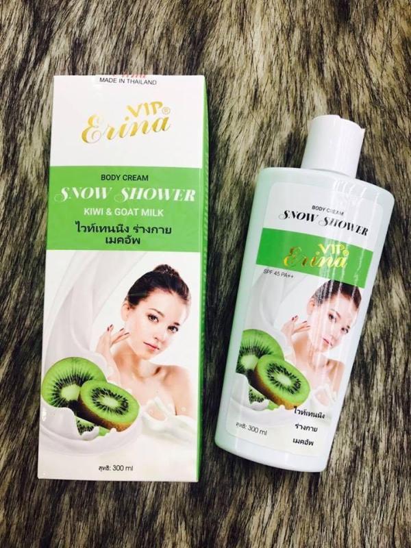Ủ tắm trắng Kiwi Erina Thái Lan nhập khẩu