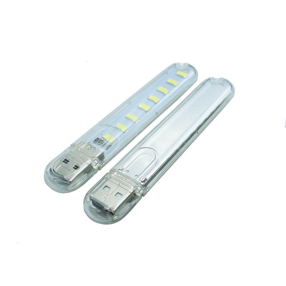 Hình ảnh Combo 2 Đèn USB, Đèn Led USB, Đèn 8 Led Siêu Sáng Cắm Cổng USB