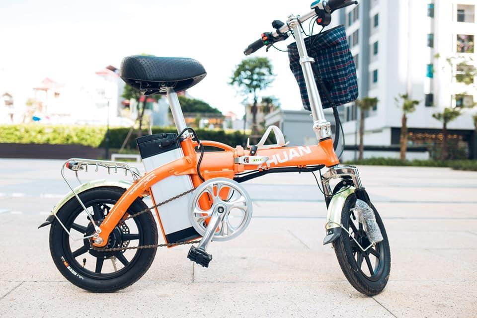 Xe đạp điện gấp  ( Miễn phí vận chuyển)