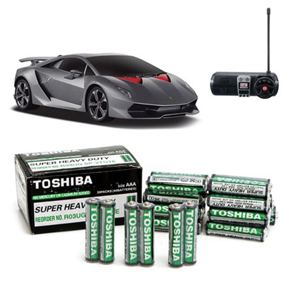 Hình ảnh Hộp 40 viên pin tiểu Toshiba AAA, pin cho điều khiển, đồ chơi