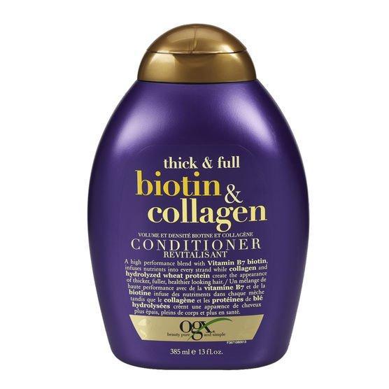 DẦU XẢ Organix Thick and Full Biotin & Collagen Conditioner 385ml nhập khẩu