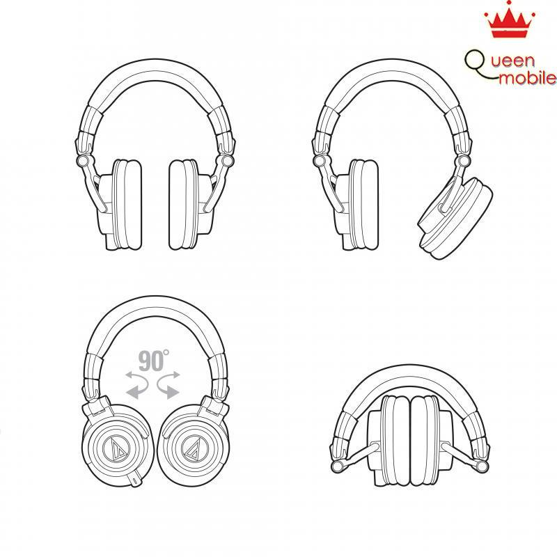 Tai nghe Audio-Technica Professional Hifi ATH-M50x RD (Limited Edition)  [giá tốt] – Review và Đánh giá sản phẩm