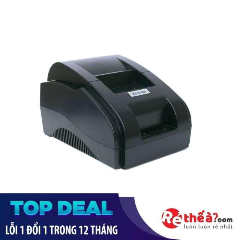 Máy in hóa hơn in bill Xprinter XP 58IIH KHỔ GIẤY K58  (Đen)