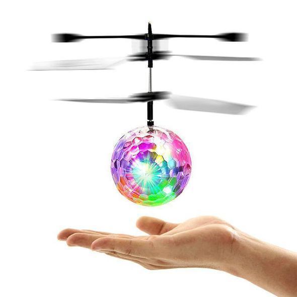Hình ảnh Quả cầu bay cảm ứng phát sáng 7 màu - Flying Ball