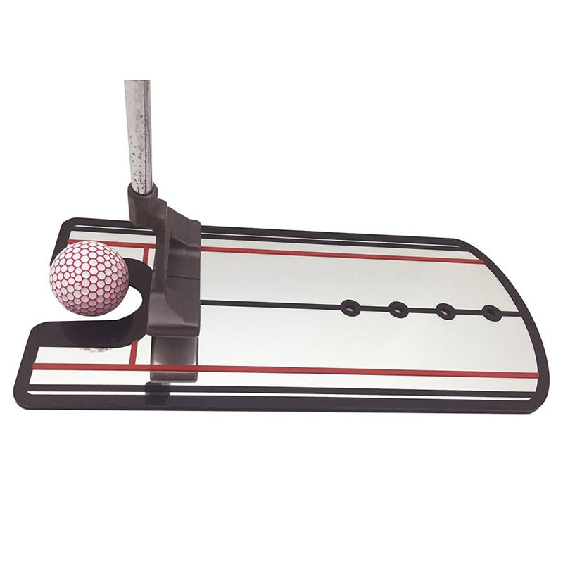 Golf Swing Straight Practice Golf Putting Mirror Alignment Training Aid Swing Trainer Eye Line Golf Accessories By Hhhappy Store.