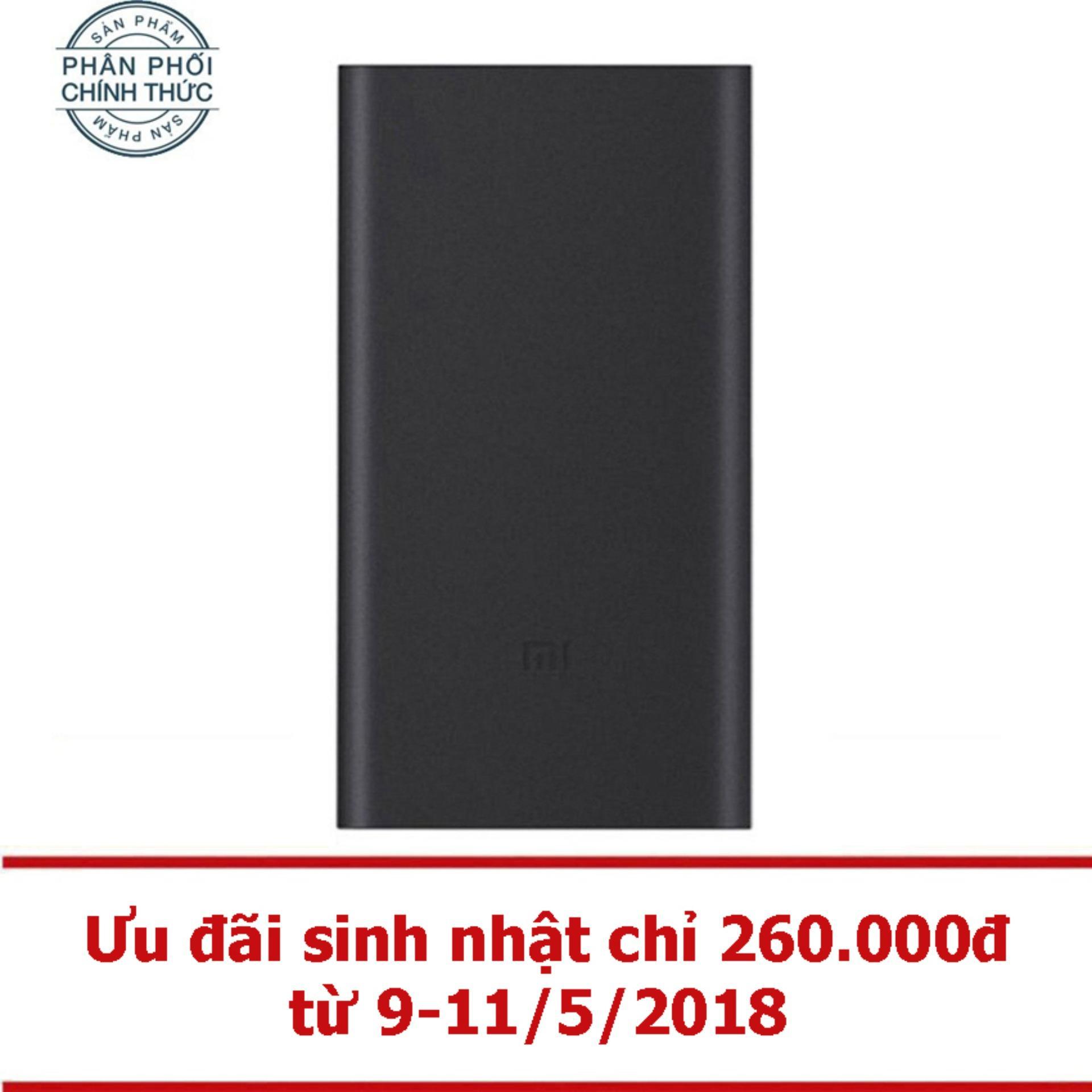 Mua Pin Sạc Dự Phong Xiaomi Power Bank Gen 2 10000Mah Đen Hangnphanphối Chinh Thức Mới Nhất