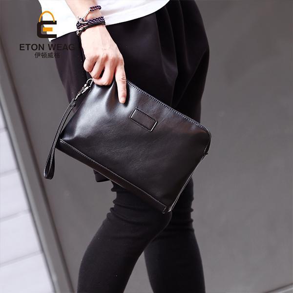 Tren model baru tas tangan pria tas tangan tas tangan dengan pegangan tas  amplop casual bisnis a45c6e1327