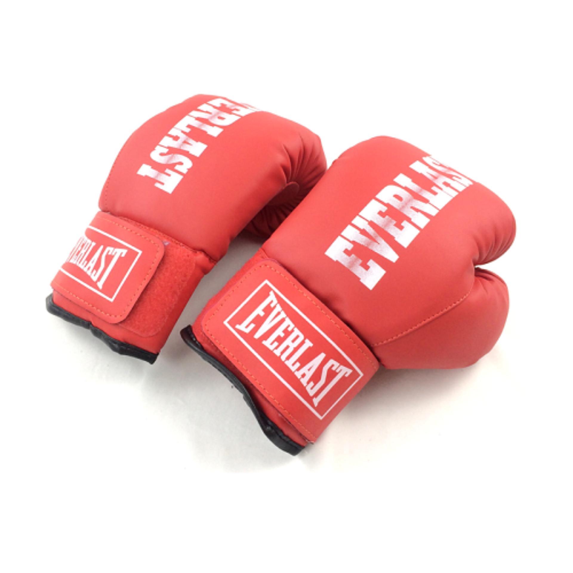 Hình ảnh Găng đấm boxing Everlast phucthanhsport (Đỏ)