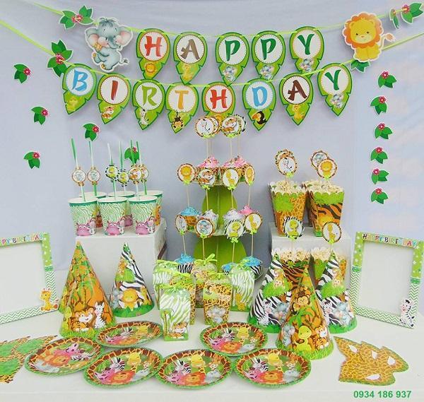 Hình ảnh Set trang trí sinh nhật
