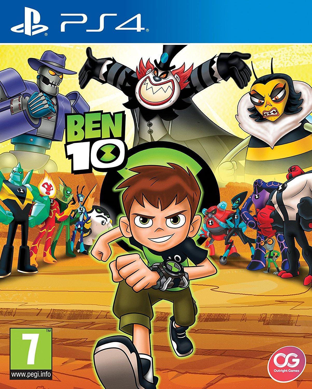 Đĩa Game PS4 Ben 10 Hệ EU