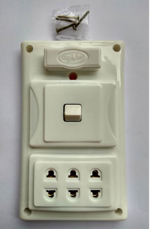 bảng điện nổi cao cấp taplo S3 giả âm - 01CT