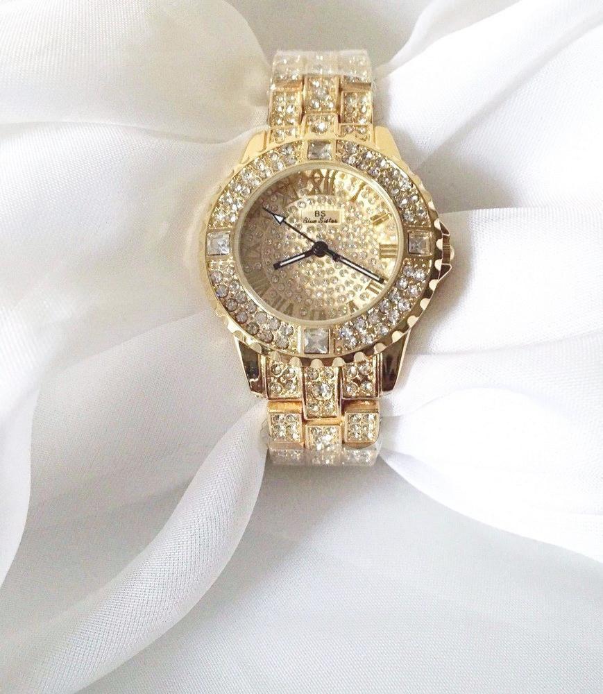 Hình ảnh Đồng hồ nữ BS BEE SISTER BS1-2 đính đá cao cấp