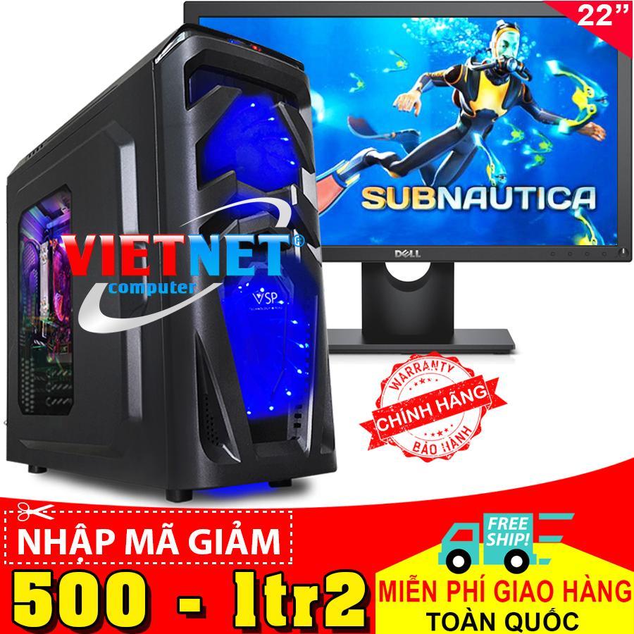 Hình ảnh Máy tính VNGame intel G4600 GTX-1050Ti Ram DDR4-8GB Hdd 500GB + Dell 22
