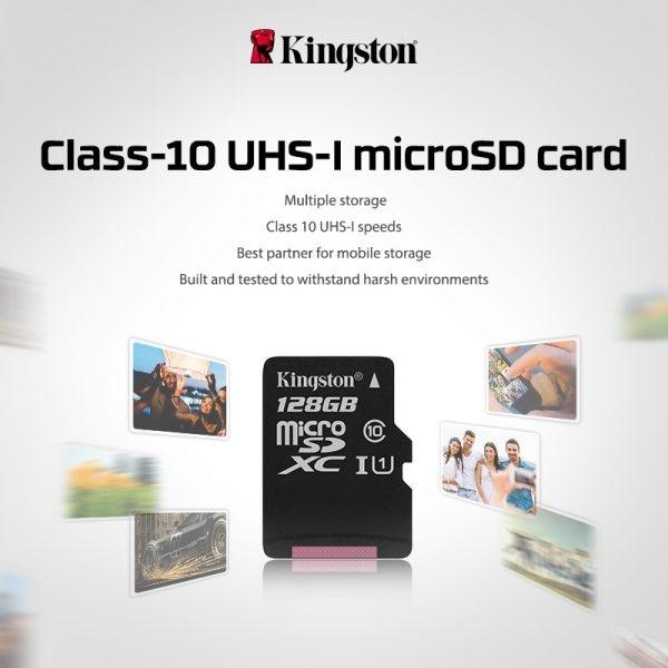Micro SDHC Kingston Class 10