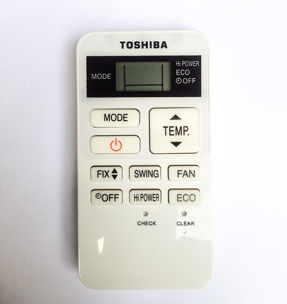Hình ảnh Remote Điều Khiển Máy lạnh, Máy Điều Hòa Toshiba WC-TA02NE, RAS-25S3KPS, RAS-25S3APS