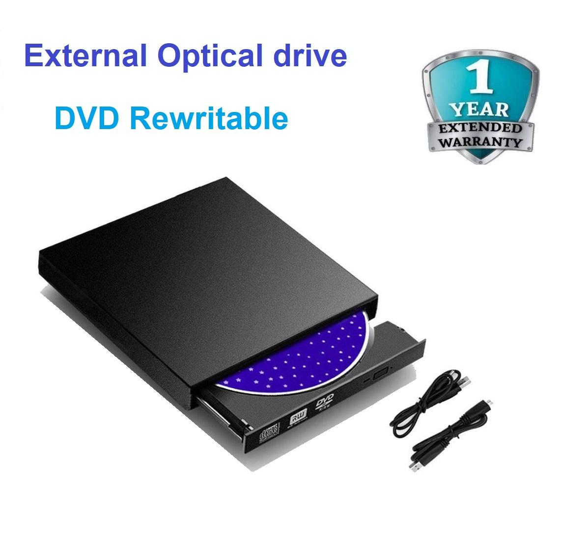 Hình ảnh Ổ Đĩa Quang Đọc Ghi CD DVD Gắn Ngoài Cổng USB Rewritable