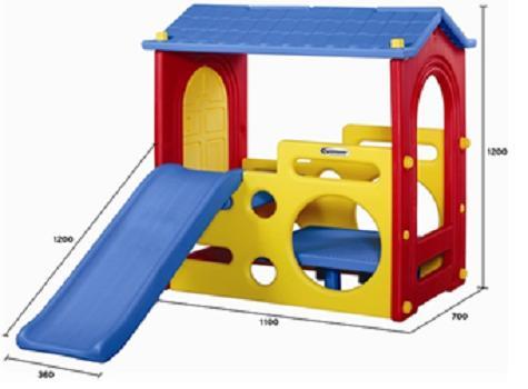 Hình ảnh Bộ đồ chơi cầu trượt mái nhà đơn
