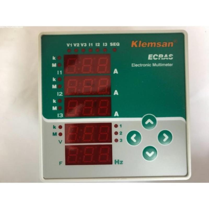 Klemsan ECRAS VCF máy đo và kiểm tra điện thế, dòng điện, điện trở, bảo hành 12 tháng có  hóa đơn VAT,CO,CQ