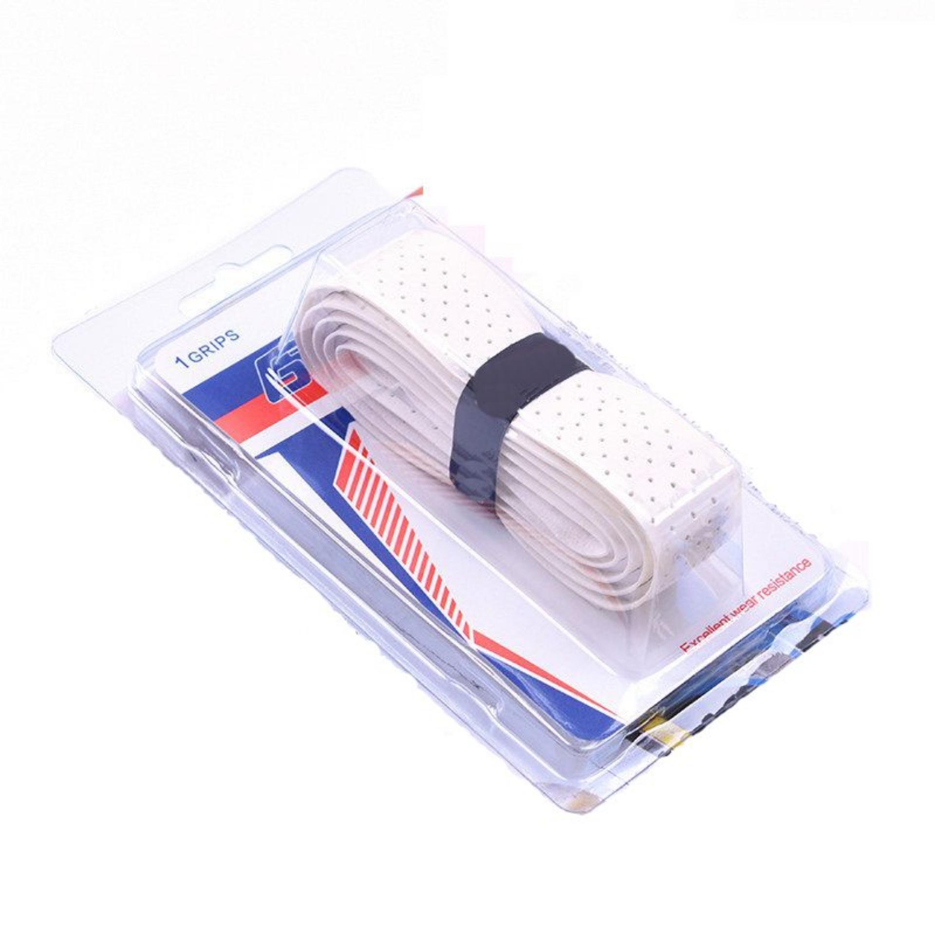 Quấn CỐT vợt tennis (1 cái), chất liệu da mềm mại, có lỗ thoáng khí cao cấp POPO Sports