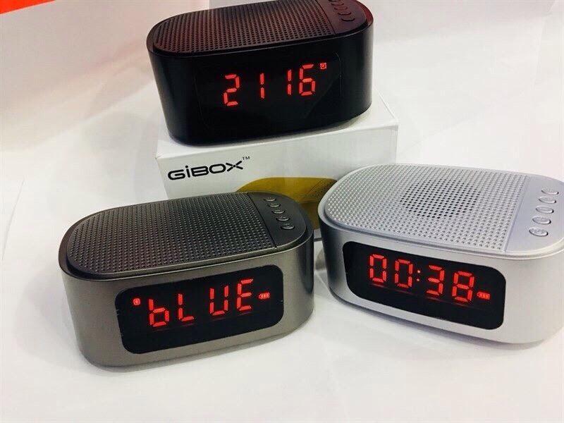 Ôn Tập Loa Bluetooth Gibox Kiem Đồng Hồ Để Ban