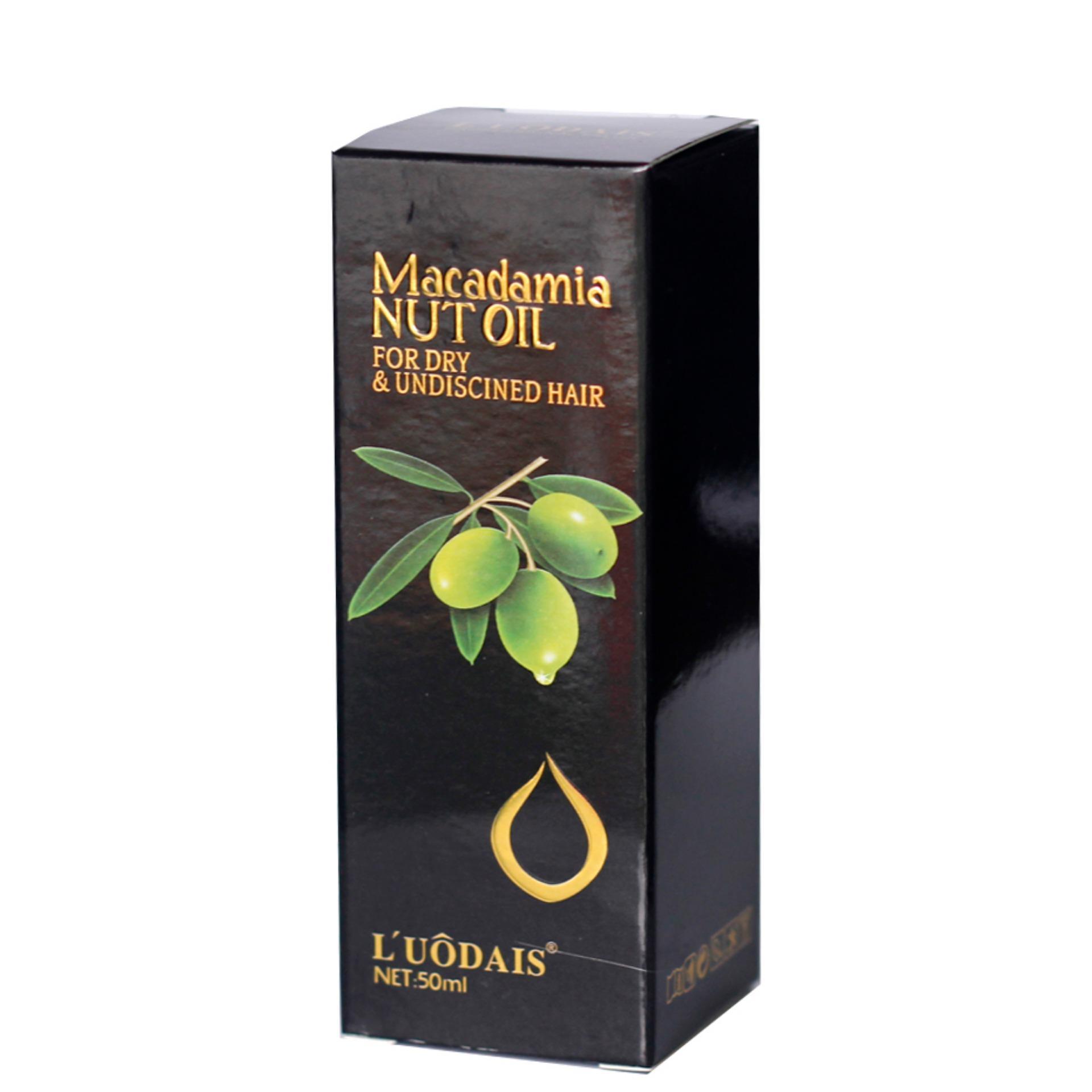Tinh dầu dưỡng tóc mềm mượt từ hạt Macca nguyên chất (50ml) tốt nhất