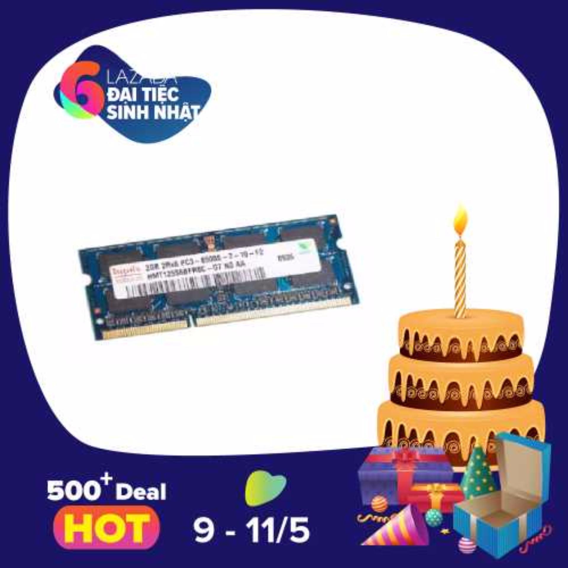 Chiết Khấu Ram Laptop Hynix Ddr3 2Gb Bus 1066 1333 1600
