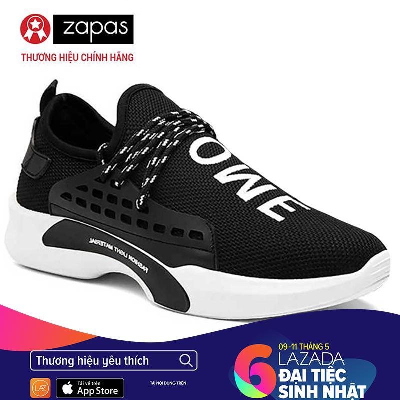 Giá Bán Giay Sneaker Nam Thời Trang Nam Zapas Gz026 Đen Mới