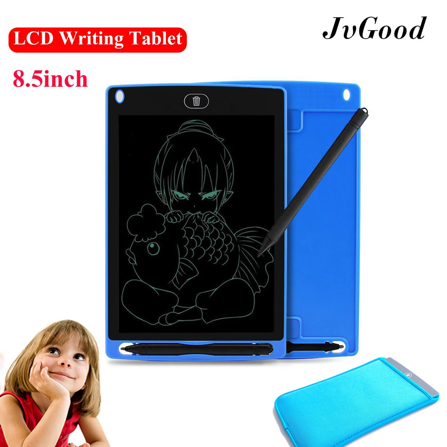 Jvgood Lcd Writing Tablet Pad: 8.5 Inch Electronic Drawing Writing Board For Kids Adults, Portable Magnetic Ewriter, Digital, Handwriting Paper Doodle Board For School, Fridge Or Office By Jvgood.