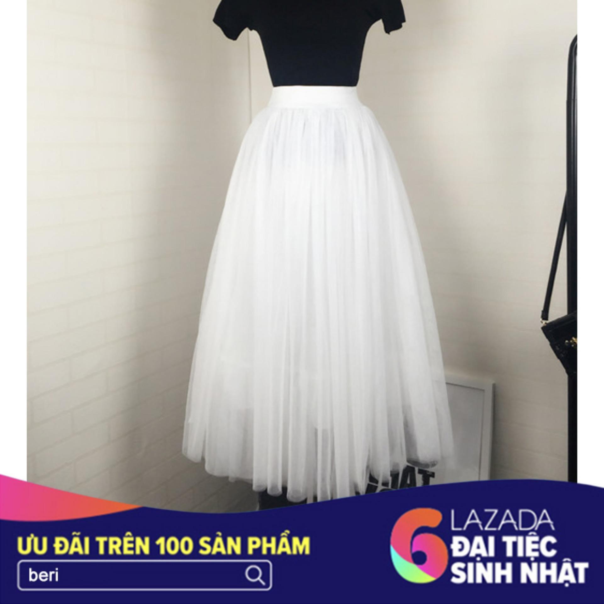 Bán Chan Vay Voan Lưới Xoe Beri Trắng Cv043 Trực Tuyến Hồ Chí Minh