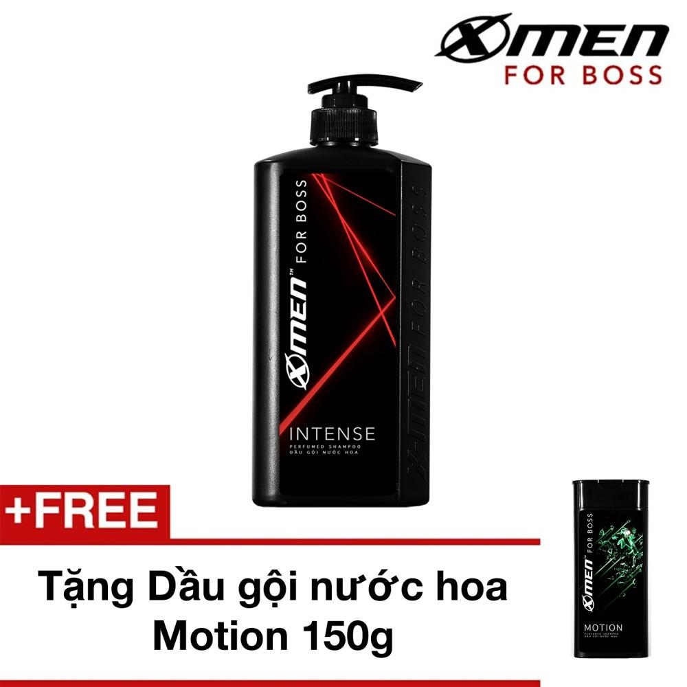 Dầu gội nước hoa X-Men for Boss Intense 650g Tặng Dầu gội nước hoa Motion 150g