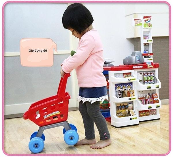 Bộ thu ngân xe đẩy siêu thị 11