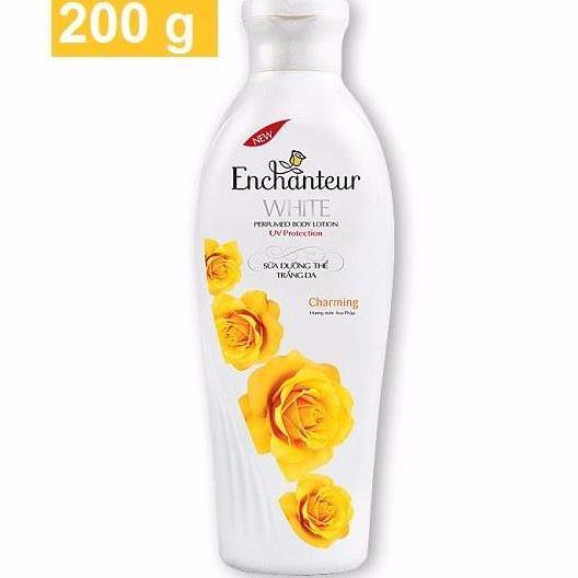 Hình ảnh Enchanteur - Sữa dưỡng thể TRẮNG DA 200 g - Charming