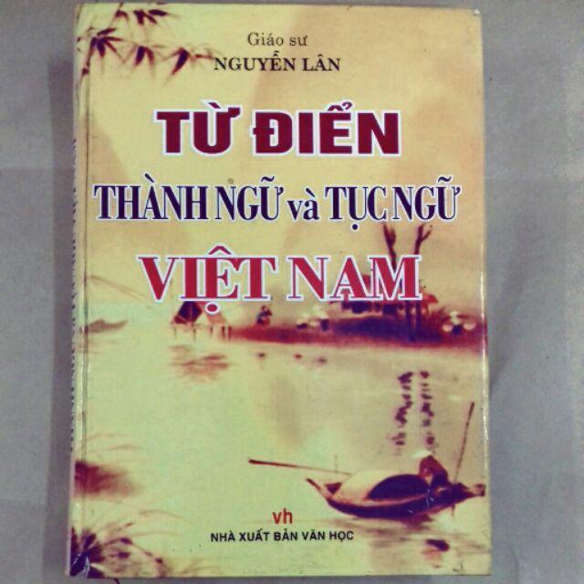 Mua Từ điển thành ngữ tục ngữ Việt Nam