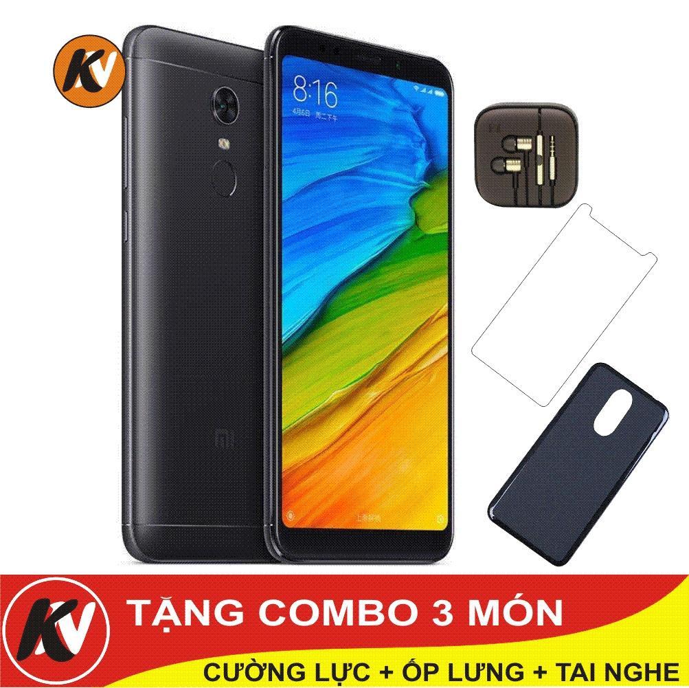 Chiết Khấu Xiaomi Redmi 5 Plus 64Gb Ram 4Gb Kim Nhung Đen Hang Nhập Khẩu Ốp Lưng Silicon Cường Lực Tai Nghe Có Thương Hiệu