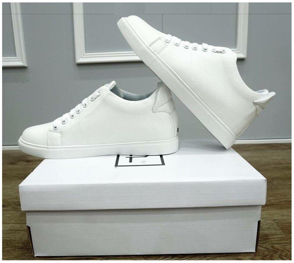 Hình ảnh Giày thể thao nam sneaker thời trang độn đế 6cm có tặng lọ tẩy giầy Giảm 41% chỉ hôm nay