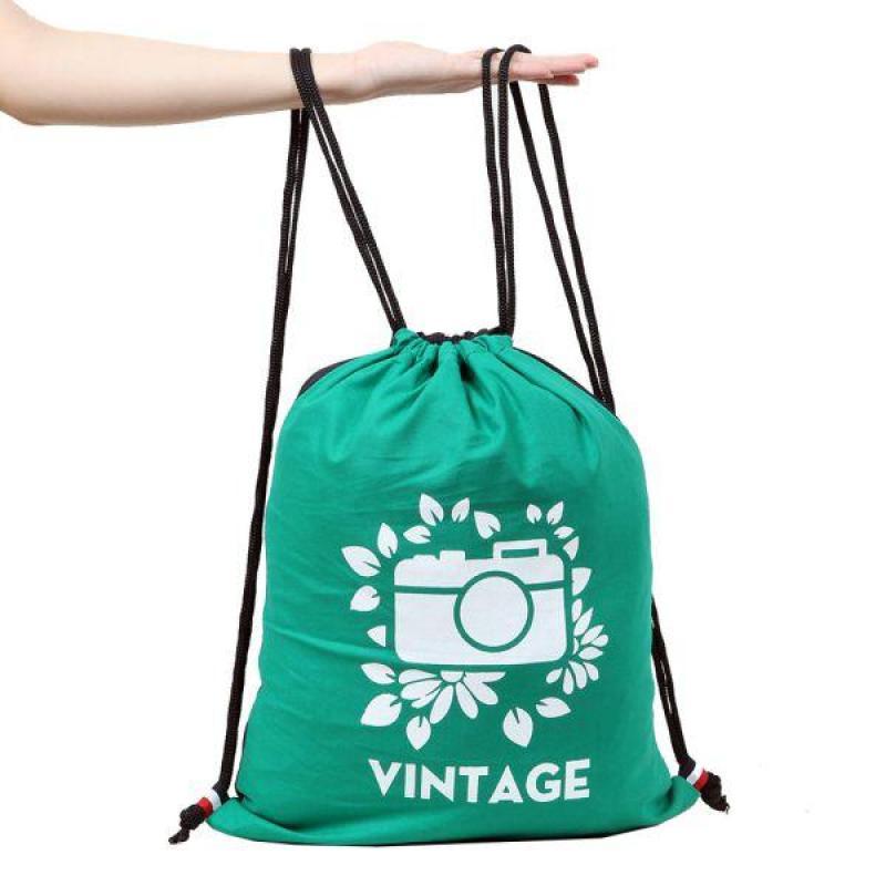 Balo dây rút Vintage (Green)