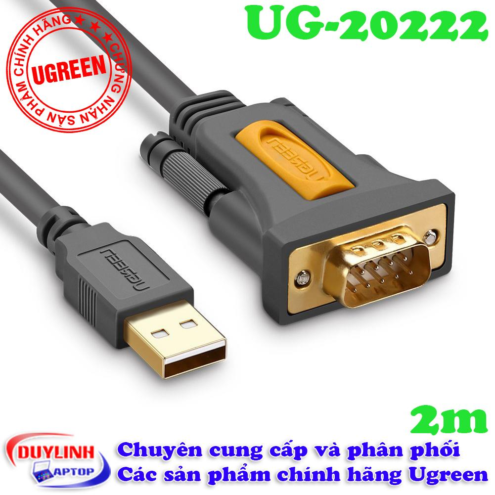 Mua Cap Usb 2 To Com Db9 Rs232 Dai 2M Ugreen 20222 Rẻ