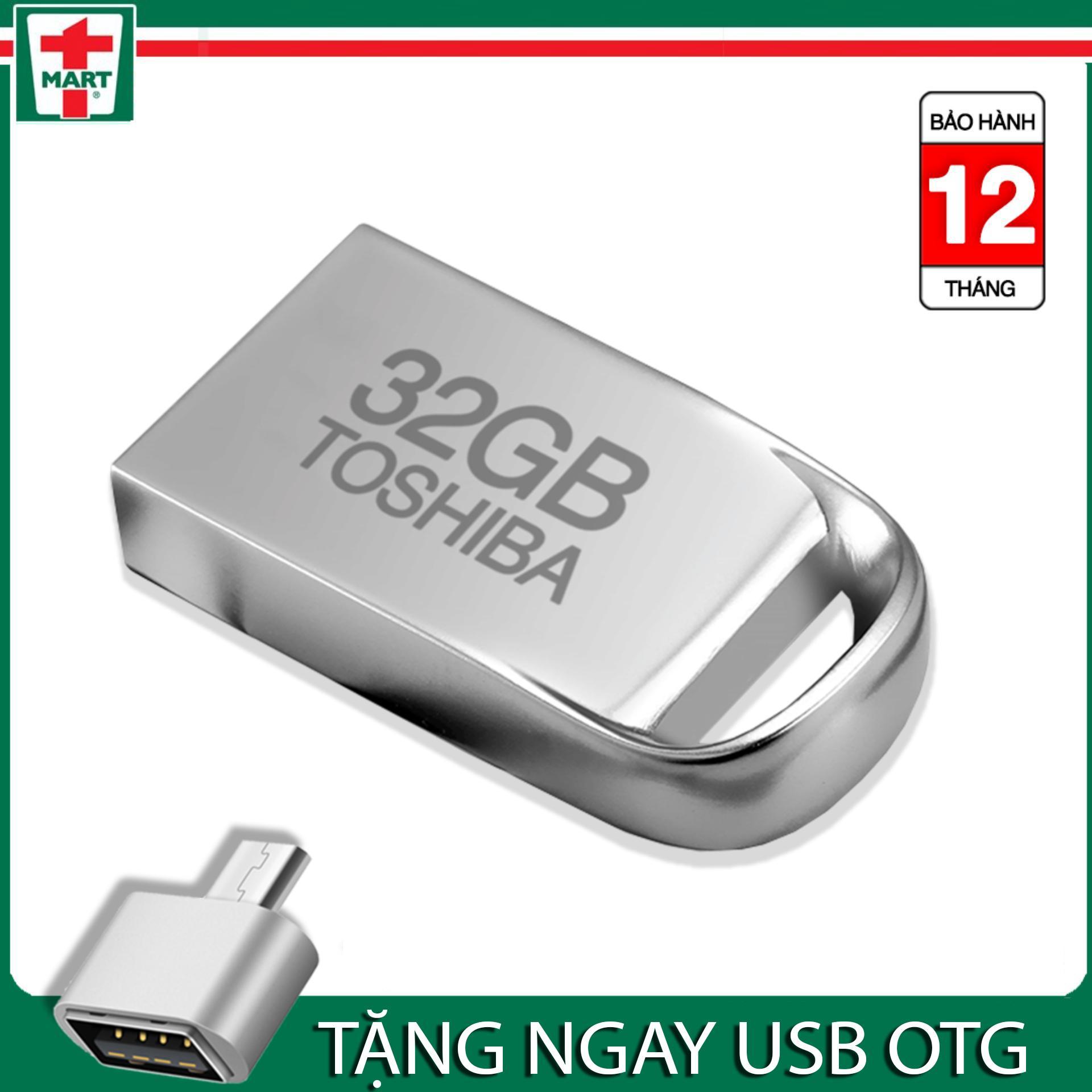 Hình ảnh [Quà tặng giá trị] USB siêu nhỏ TOSHIBA 32GB