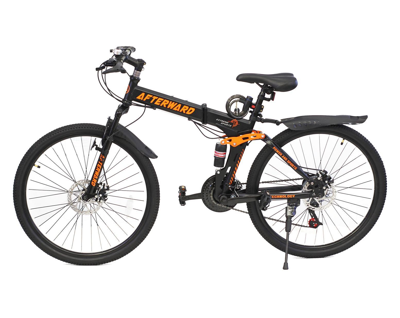 Xe đạp địa hình gấp AfterWard + Tặng bơm và khóa chống trộm