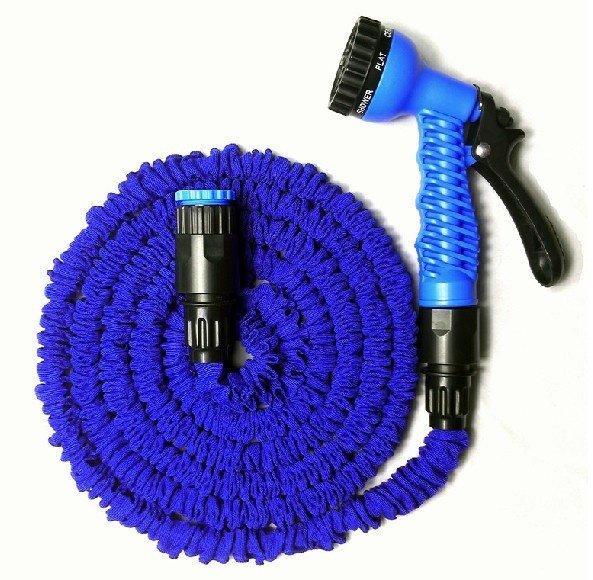 Hình ảnh Vòi xịt rửa thông minh giãn nở MAGIC HOUSE loại 15m (xanh dương)